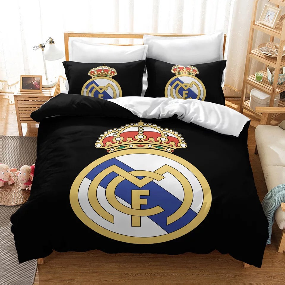 Real Madrid Football Club #10 Duvet Cover Quilt Cover Pillowcase Bedding Set Bed Linen Home Decor