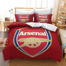 Load image into Gallery viewer, Arsenal Football Club  #20 Duvet Cover Quilt Cover Pillowcase Bedding Set Bed Linen Home Decor