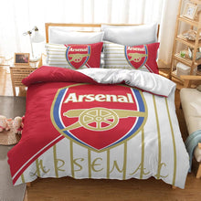 Load image into Gallery viewer, Arsenal Football Club  #21 Duvet Cover Quilt Cover Pillowcase Bedding Set Bed Linen Home Decor