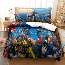 Load image into Gallery viewer, My Hero Academia Izuku Midoriya #18 Duvet Cover Quilt Cover Pillowcase Bedding Set Bed Linen Home Decor
