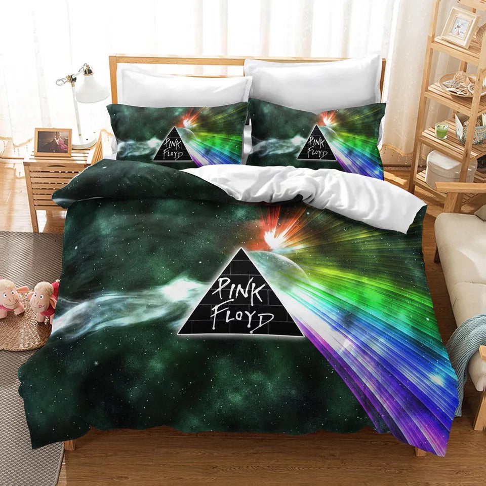 Pink Floyd #6 Duvet Cover Quilt Cover Pillowcase Bedding Set Bed Linen Home Decor