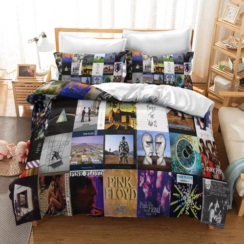 Pink Floyd #7 Duvet Cover Quilt Cover Pillowcase Bedding Set Bed Linen Home Decor