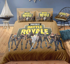Fortnite Team #11 Duvet Cover Quilt Cover Pillowcase Bedding Set Bed Linen Home Decor