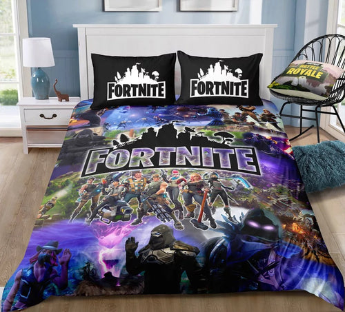 Fortnite Team #15 Duvet Cover Quilt Cover Pillowcase Bedding Set Bed Linen Home Decor