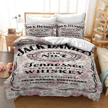 Load image into Gallery viewer, JACK DANIELS #7 Duvet Cover Quilt Cover Pillowcase Bedding Set Bed Linen Home Decor