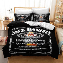 Load image into Gallery viewer, JACK DANIELS #10 Duvet Cover Quilt Cover Pillowcase Bedding Set Bed Linen Home Decor