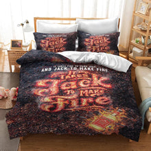 Load image into Gallery viewer, JACK DANIELS #11 Duvet Cover Quilt Cover Pillowcase Bedding Set Bed Linen Home Decor
