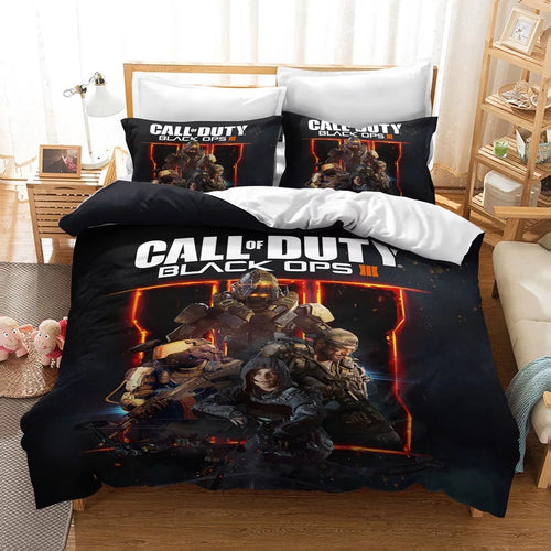 Call of Duty #17 Duvet Cover Quilt Cover Pillowcase Bedding Set Bed Linen Home Decor