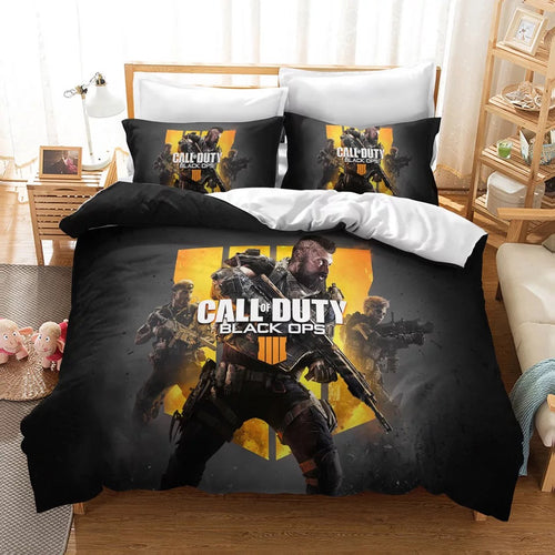 Call of Duty #18 Duvet Cover Quilt Cover Pillowcase Bedding Set Bed Linen Home Decor