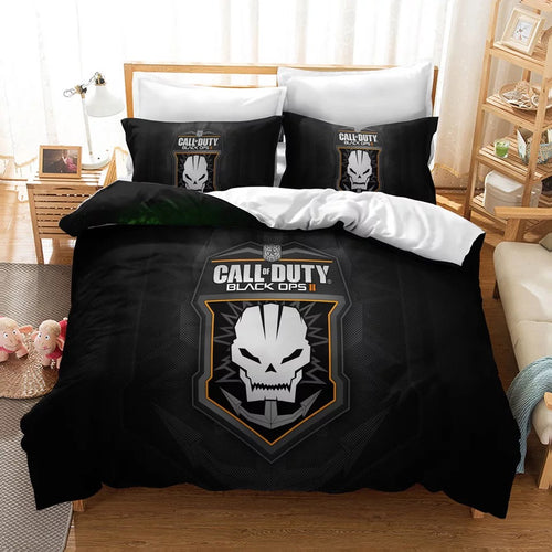 Call of Duty #19 Duvet Cover Quilt Cover Pillowcase Bedding Set Bed Linen Home Decor
