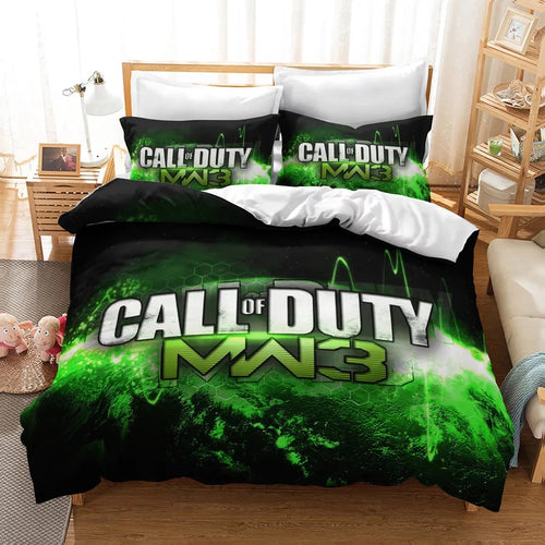 Call of Duty #20 Duvet Cover Quilt Cover Pillowcase Bedding Set Bed Linen Home Decor