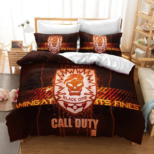 Call of Duty #22 Duvet Cover Quilt Cover Pillowcase Bedding Set Bed Linen Home Decor