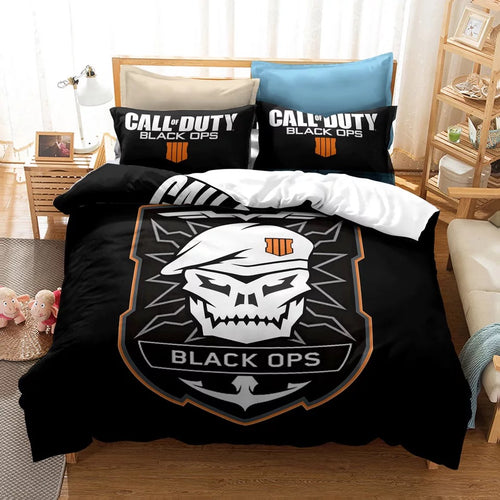 Call of Duty #23 Duvet Cover Quilt Cover Pillowcase Bedding Set Bed Linen Home Decor