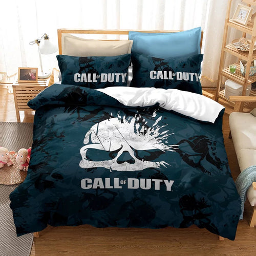 Call of Duty #24 Duvet Cover Quilt Cover Pillowcase Bedding Set Bed Linen Home Decor
