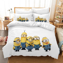 Load image into Gallery viewer, Despicable Me Minions #10 Duvet Cover Quilt Cover Pillowcase Bedding Set Bed Linen Home Decor