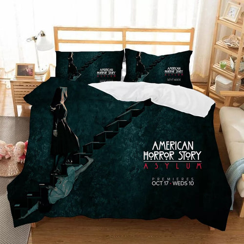 American Horror Story #2 Duvet Cover Quilt Cover Pillowcase Bedding Set Bed Linen Home Bedroom Decor
