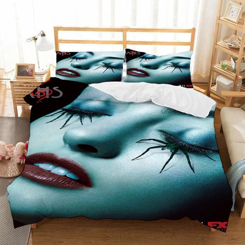 American Horror Story #4 Duvet Cover Quilt Cover Pillowcase Bedding Set Bed Linen Home Bedroom Decor