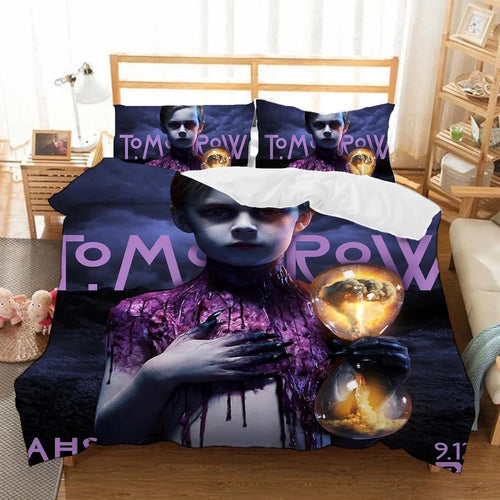 American Horror Story #7 Duvet Cover Quilt Cover Pillowcase Bedding Set Bed Linen Home Bedroom Decor