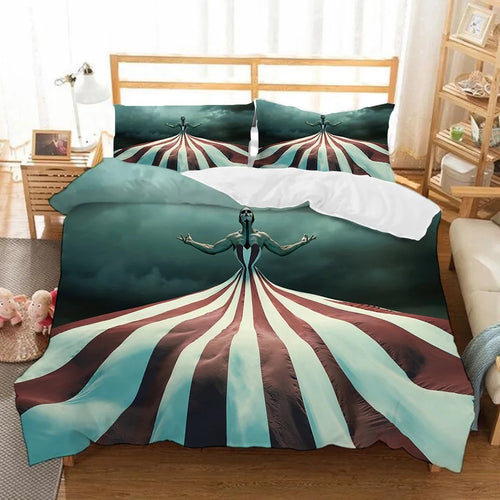 American Horror Story #9 Duvet Cover Quilt Cover Pillowcase Bedding Set Bed Linen Home Bedroom Decor
