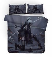 Load image into Gallery viewer, Nier Automata Yorha 2B #3 Duvet Cover Quilt Cover Pillowcase Bedding Set Bed Linen Home Decor