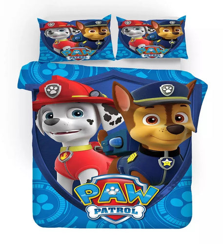 PAW Patrol Marshall #1 Duvet Cover Quilt Cover Pillowcase Bedding Set Bed Linen Home Decor
