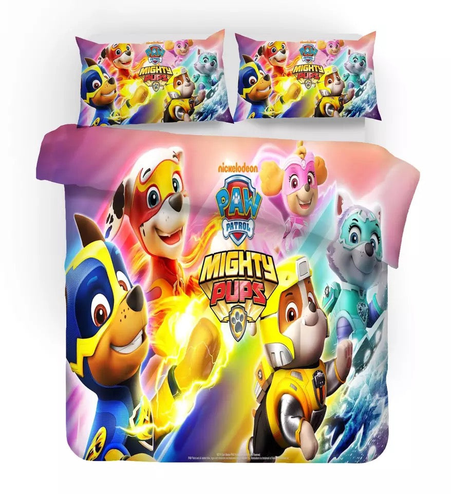 PAW Patrol Marshall #2 Duvet Cover Quilt Cover Pillowcase Bedding Set Bed Linen Home Decor