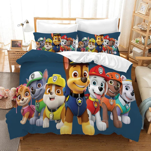 PAW Patrol Marshall #3 Duvet Cover Quilt Cover Pillowcase Bedding Set Bed Linen Home Decor