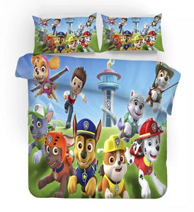 PAW Patrol Marshall #7 Duvet Cover Quilt Cover Pillowcase Bedding Set Bed Linen Home Decor