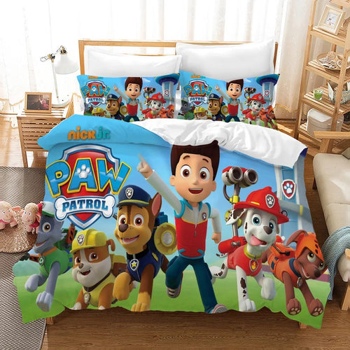 PAW Patrol Marshall #10 Duvet Cover Quilt Cover Pillowcase Bedding Set Bed Linen Home Decor