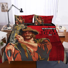 Load image into Gallery viewer, Red Dead Redemption #3 Duvet Cover Quilt Cover Pillowcase Bedding Set Bed Linen Home Decor