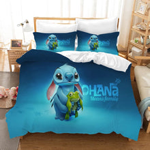 Load image into Gallery viewer, Lilo & Stitch #12 Duvet Cover Quilt Cover Pillowcase Bedding Set Bed Linen Home Decor