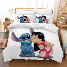 Load image into Gallery viewer, Lilo & Stitch #16 Duvet Cover Quilt Cover Pillowcase Bedding Set Bed Linen Home Decor