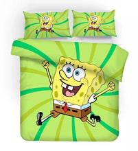Load image into Gallery viewer, SpongeBob SquarePants #4 Duvet Cover Quilt Cover Pillowcase Bedding Set Bed Linen Home Decor