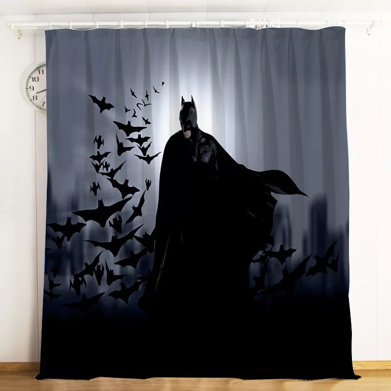 Dc Batman 1 Blackout Curtains For Window Treatment Set For Living Roo Bedding Picky