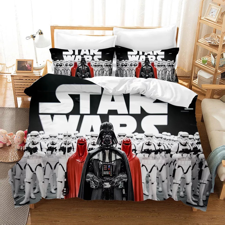 Star Wars #1 Duvet Cover Quilt Cover Pillowcase Bedding Set Bed Linen Home Decor