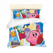Load image into Gallery viewer, Kirby & The Amazing Mirror #2 Duvet Cover Quilt Cover Pillowcase Bedding Set Bed Linen Home Decor