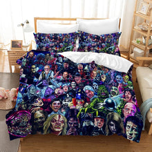 Load image into Gallery viewer, Halloween Michael Myers Horror Movie #6 Duvet Cover Quilt Cover Pillowcase Bedding Set Bed Linen Home Decor