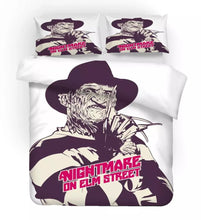 Load image into Gallery viewer, A Nightmare on Elm Street Horror Movie #4 Duvet Cover Quilt Cover Pillowcase Bedding Set Bed Linen Home Decor