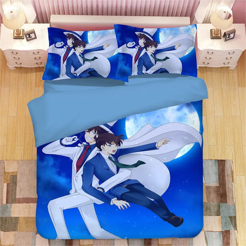 Detective Conan Case Closed Edogawa Kona #2 Duvet Cover Quilt Cover Pillowcase Bedding Set Bed Linen Home Decor
