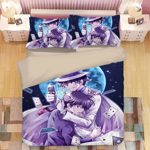 Detective Conan Case Closed Edogawa Kona #4 Duvet Cover Quilt Cover Pillowcase Bedding Set Bed Linen Home Decor