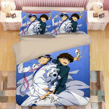Load image into Gallery viewer, Detective Conan Case Closed Edogawa Kona #7 Duvet Cover Quilt Cover Pillowcase Bedding Set Bed Linen Home Decor