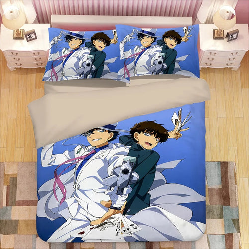 Detective Conan Case Closed Edogawa Kona #7 Duvet Cover Quilt Cover Pillowcase Bedding Set Bed Linen Home Decor