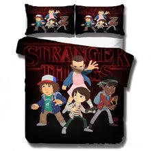 Load image into Gallery viewer, Stranger Things Eleven #25 Duvet Cover Quilt Cover Pillowcase Bedding Set Bed Linen Home Decor