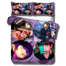 Load image into Gallery viewer, Kpop BTS Bangtan Boys #2 Duvet Cover Quilt Cover Pillowcase Bedding Set Bed Linen Home Decor