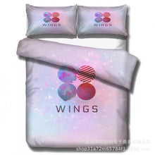 Load image into Gallery viewer, Kpop BTS Bangtan Boys #5 Duvet Cover Quilt Cover Pillowcase Bedding Set Bed Linen Home Decor