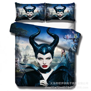 Maleficent #1 Duvet Cover Quilt Cover Pillowcase Bedding Set Bed Linen Home Decor