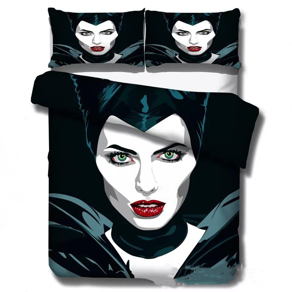 Maleficent #6 Duvet Cover Quilt Cover Pillowcase Bedding Set Bed Linen Home Decor
