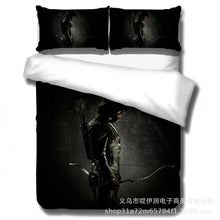Load image into Gallery viewer, Arrow Oliver Queen #3 Duvet Cover Quilt Cover Pillowcase Bedding Set Bed Linen Home Decor