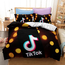 Load image into Gallery viewer, Tik Tok #1 Duvet Cover Quilt Cover Pillowcase Bedding Set Bed Linen Home Bedroom Decor