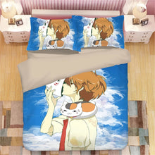 Load image into Gallery viewer, Natsume's Book of Friends #3 Duvet Cover Quilt Cover Pillowcase Bedding Set Bed Linen Home Decor